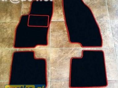 Fiat Grande Punto od 2005 do 2018 r. najwyższej jakości dywaniki samochodowe z grubego weluru z gumą od spodu, dedykowane Fiat Punto-1