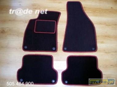 AUDI A4 B7 sedan 2004 - 10.2007 najwyższej jakości dywaniki samochodowe z grubego weluru z gumą od spodu, dedykowane Audi A4-1