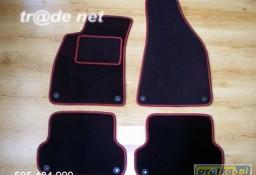 AUDI A4 B7 sedan 2004 - 10.2007 najwyższej jakości dywaniki samochodowe z grubego weluru z gumą od spodu, dedykowane Audi A4