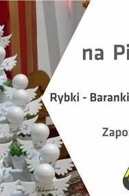Styropianowe serduszka z imieniem dziecka, Pierwsza Komunia dekoracje, ozdoby komunijne, styropianowe-3