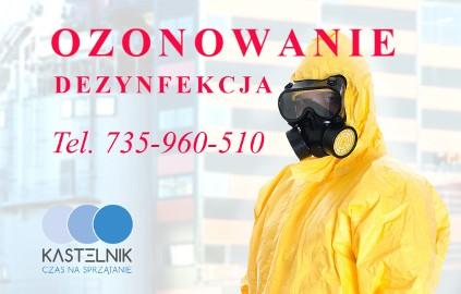 Ozonowanie pomieszczeń zdiagnozowanym przypadku COVID-19 Kastelnik całodobowo Śląskie