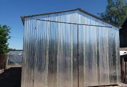 Garaż blaszany, wiaty, hale, konstrukcje stalowe.