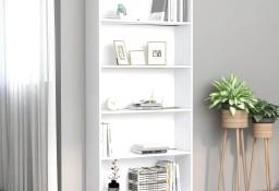 vidaXL 5-poziomowy regał na książki, biały, 80 x 24 x 175 cm 800918
