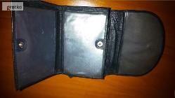 portfel damski czarny