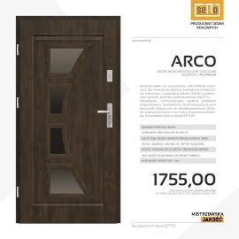Drzwi wejściowe SETTO - model ARCO J-PLATINIUM