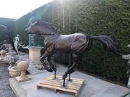 Koń Mustang z brązu , Koń z brązu 1:1