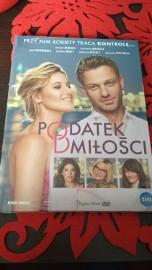 Książka z filmem DVD - Podatek od Miłości PL