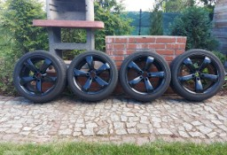 "Felgi czarne alu z oponami Bridgestone 17"" 5x114,3 Mazda, Toyota, Kia, Renault, Dacia"