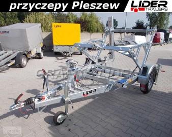 LT-011 przyczepa do przewozu bębna, kabla, światłowodu, drutu, DMC 1300kg