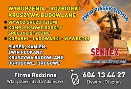 wyburzenia rozbiórki Olsztyn prace roboty rozbiórkowe wyburzeniowe w Olsztynie