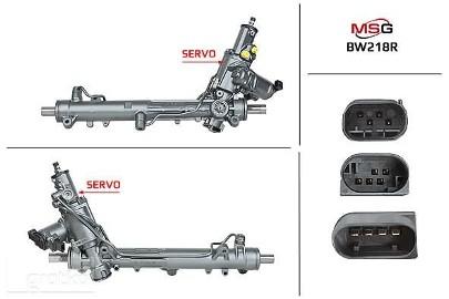 Przekładnia kierownicza ze wspomaganiem hydraulicznym Bmw 6 (E63), Bmw 6 (E64), Bmw 5 (E60), Bmw 5 (E61) BW218R