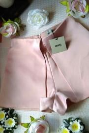 (36) ASOS/ Wytworne szorty, różowe krótkie spodenki, spodnie/ NOWE z metką