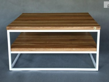 stolik / ława ALESSIO dębowe blaty olejowane szczotkowane-1