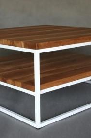 stolik / ława ALESSIO dębowe blaty olejowane szczotkowane-2
