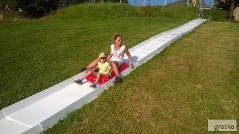 Zjeżdżalnia pontonowa wodna segmentowa