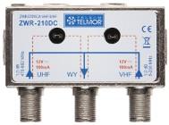 Zwrotnica antenowa VHF i UHF ZWR-210DC Telmor Kielce