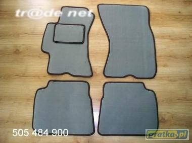 Subaru Legacy IV od 2004 do 2009 r. najwyższej jakości dywaniki samochodowe z grubego weluru z gumą od spodu, dedykowane Subaru Legacy-1
