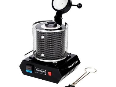 Profesjonalny piec tyglowy 1kg 1100°C 1900W-1