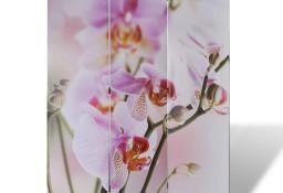 vidaXL Składany parawan, 120x170 cm, motyw kwiatowy 240475