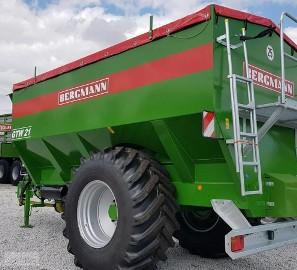 rolnicze Przyczepa Przeładowcza Bergmann GTW 21 nie Horsh Bergmann GTW 21
