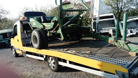 Transport przewracarek przetrzasaczy zgrabiarek owijarek belar Jeruzal 510-034-399 laweta przewóz maszyn rolniczych