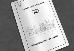 Instrukcja DTR: Tokarka 1M63