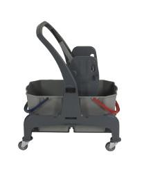 wózek do sprzątania dwu wiaderkowy