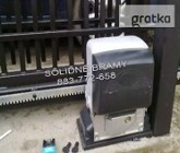 Automat do bramy przesuwnej Napęd CAME zestaw BX 78 STRONG 800kg