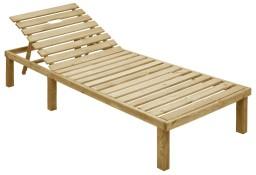 vidaXL Leżak, impregnowane drewno sosnowe 49087