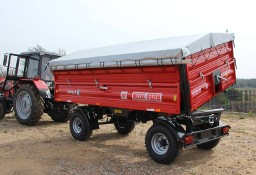 Przyczepa rolnicza dwuosiowa T710 6t lub 8t METAL-FACH