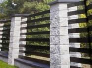 Profil ogrodzeniowy 80/15/2,5mm z włókna szkalnego