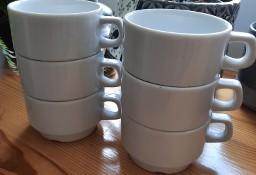 NOWE - 6 Filiżanek 150 ml porcelanowa KASZUB HEL LUBIANA