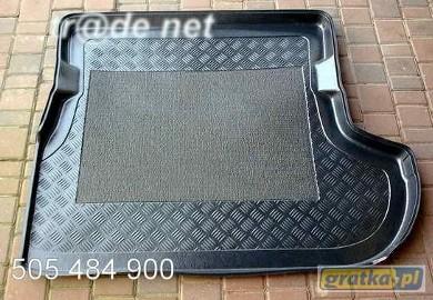 PEUGEOT 4007 od 2008 z subwooferem mata bagażnika - idealnie dopasowana do kształtu bagażnika Peugeot