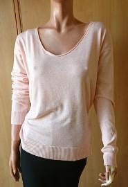 Brzoskwiniowa bluzka damska