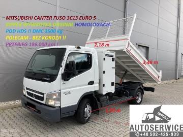 Mitsubishi Fuso CANTER FUSO 3C13 EURO5 KIPPER WYWROTKA HDS HOMOLOG
