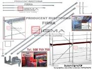 RUSZTOWANIE 500m2~ TANIE Rusztowania Elewacyjne Systemowe PRODUCENT Rusztowań