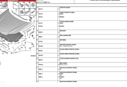 CITROEN AUTO BROKER LUBLIN 7937R0 LINKA, UCHWYT OTWIERANIA MASKI CITROEN C5 X7 2008- Citroen C5