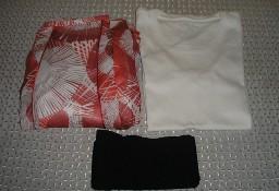 Spódnica maxi 38-40, bluzka, rajstopy