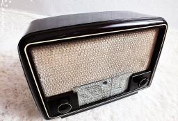 Stare powojenne radio lampowe RFT 1U11 z lat 40-50