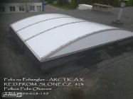 Folia przeciwsłoneczna na polięglan- Folie na świetliki dachowe Warsza