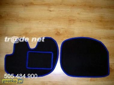 Hyundai H100 1992-2006 VAN najwyższej jakości dywaniki samochodowe z grubego weluru z gumą od spodu, dedykowane Hyundai H-1-1