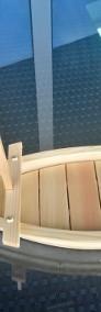 sushi półmisek łódka drewno drewniany talerz-4