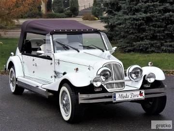 Samochody ślubne Auta weselne Zabytkowy samochód do ślubu kabriolet na wesele Wypożyczalnia samochodów na ślub