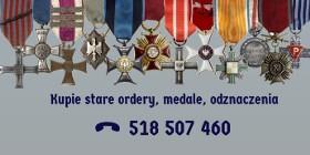 Kupie stare medale, odznaczenia i pamiątki wojskowe