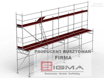 Rusztowanie Rusztowania 10m x 39m - Rusztowania Domki Bloki Producent