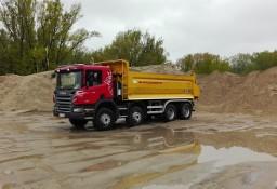 Żwir, tłuczeń, kruszywo łamane beton kruszony, piasek, destrukt drogowy z transportem duże i małe ciężarówki