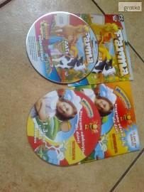 2 płyty CD z grami edukacyjnymi dla dzieci
