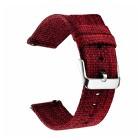Pasek do zegarka miękki oddychający pasek regulowany z adapterami