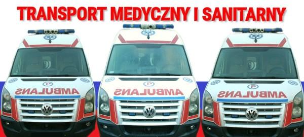 Przewóz osób chorych i niepełnosprawnych, Transport medyczny i sanitarny, Przewóz karetką na leżąco