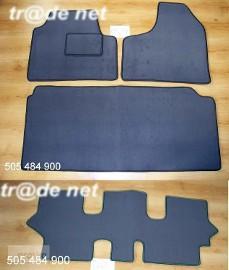 Lancia Zeta 1994-2002 3 rzędy + bagażnik najwyższej jakości dywaniki samochodowe z grubego weluru z gumą od spodu, dedykowane Lancia Zeta